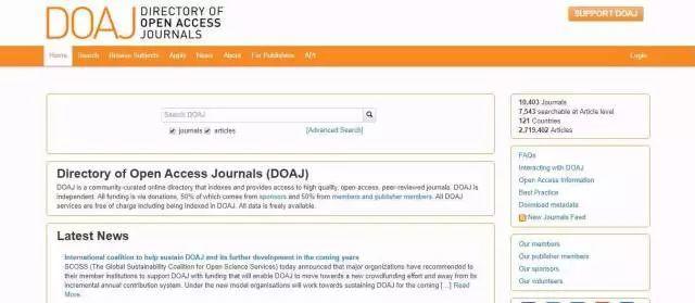 资讯|40个学术网站,满足你的科研需求