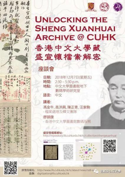 【资源分享】香港中文大学藏盛宣怀档案