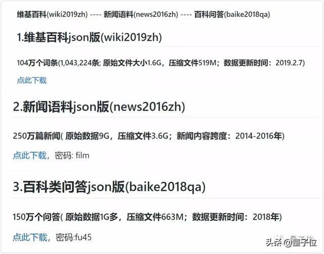 GitHub出现一个大型中文NLP资源,宣称要放出亿级语料库