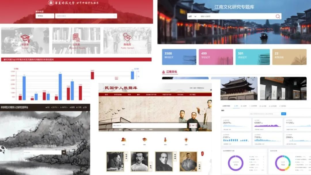 华东师大人文社科大数据平台重磅上线!用它!