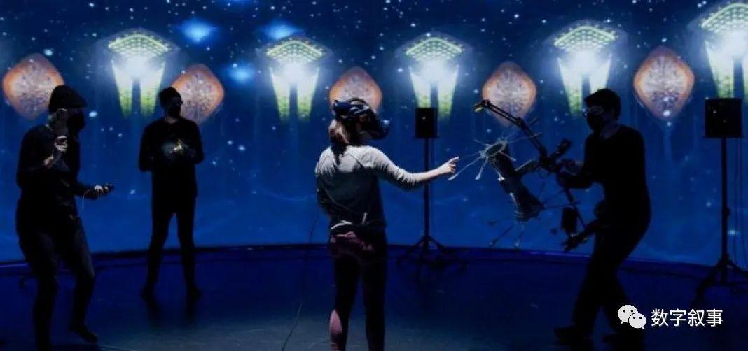 藉多感官融合拓展VR边界,创作系列迭代的艺术体验