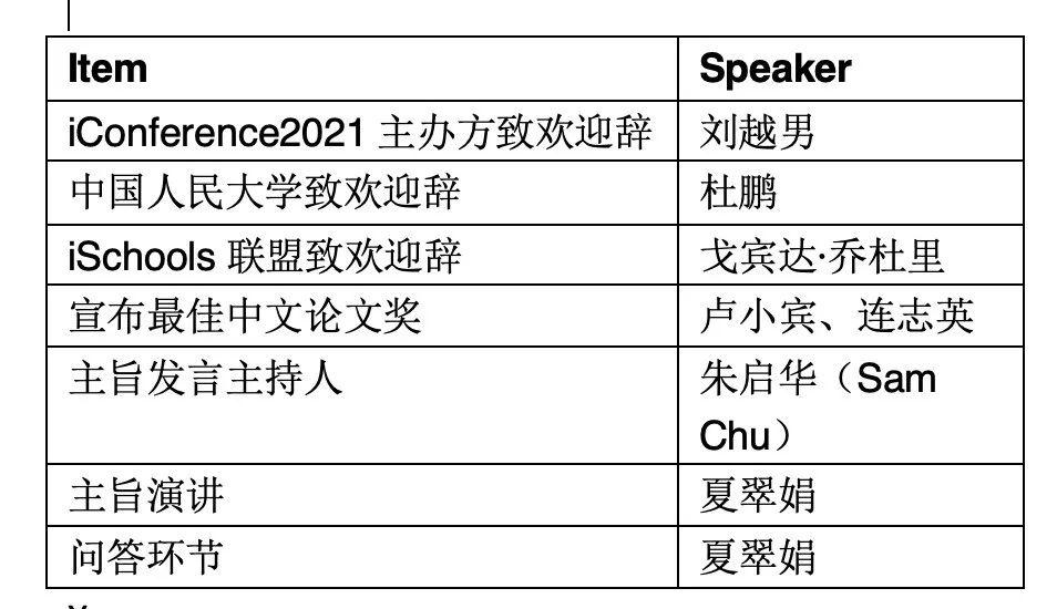 信息联盟|iConference2021开幕啦!国际信息联盟顶会开幕式精彩速递!